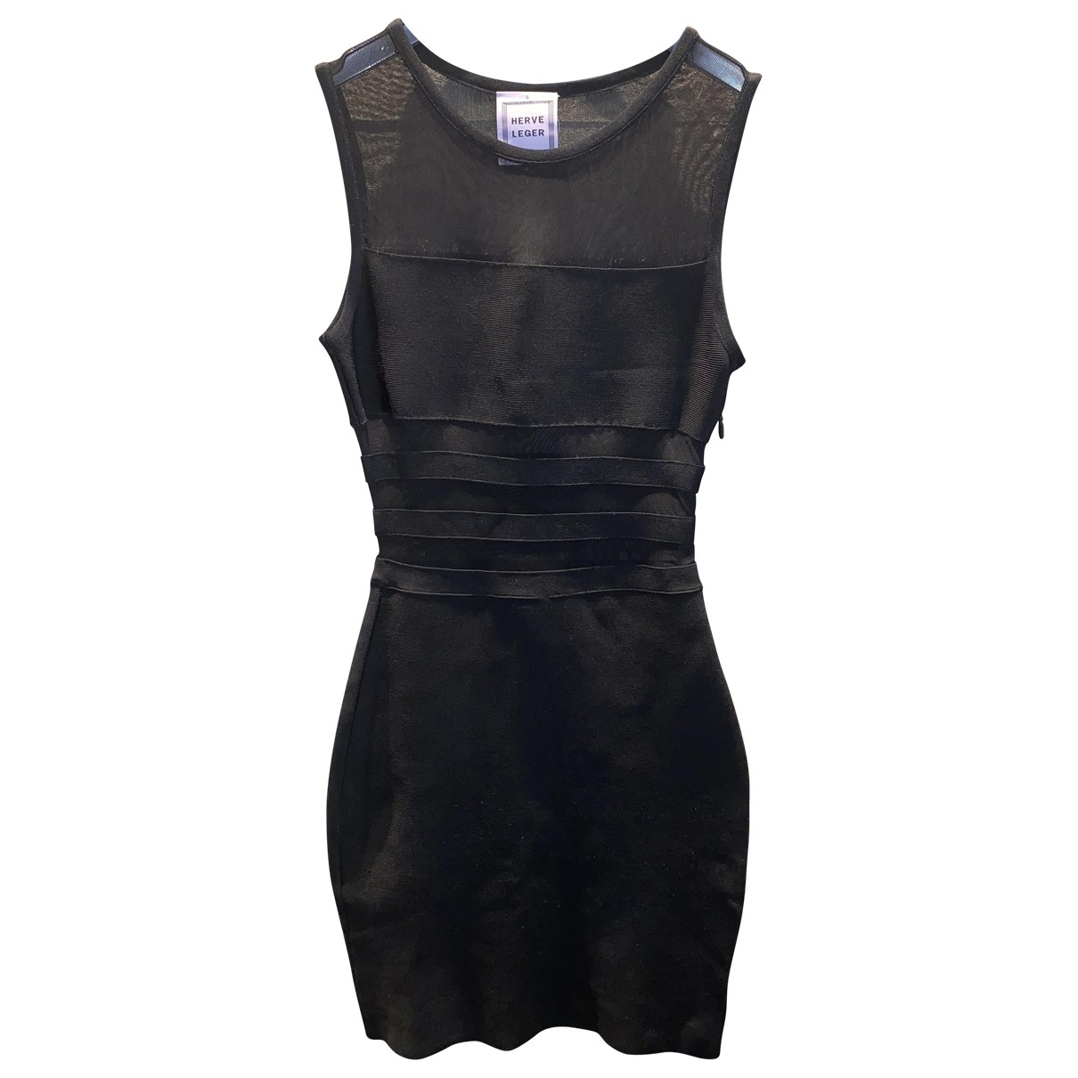 Herve Leger \N Black dress for Women S International