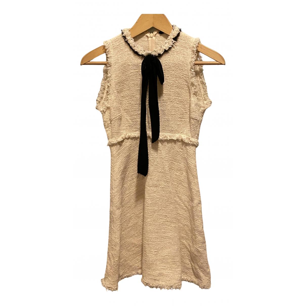 Zara \N Beige Cotton dress for Women XS International