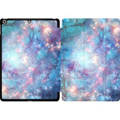 Apple iPad 9.7 (2018) Tablet Smart Case - Abstract Galaxy - Blue von Barruf