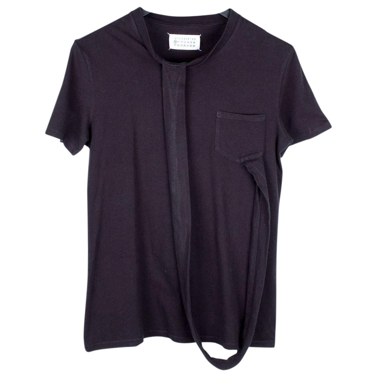 Maison Martin Margiela \N T-Shirts in  Schwarz Baumwolle