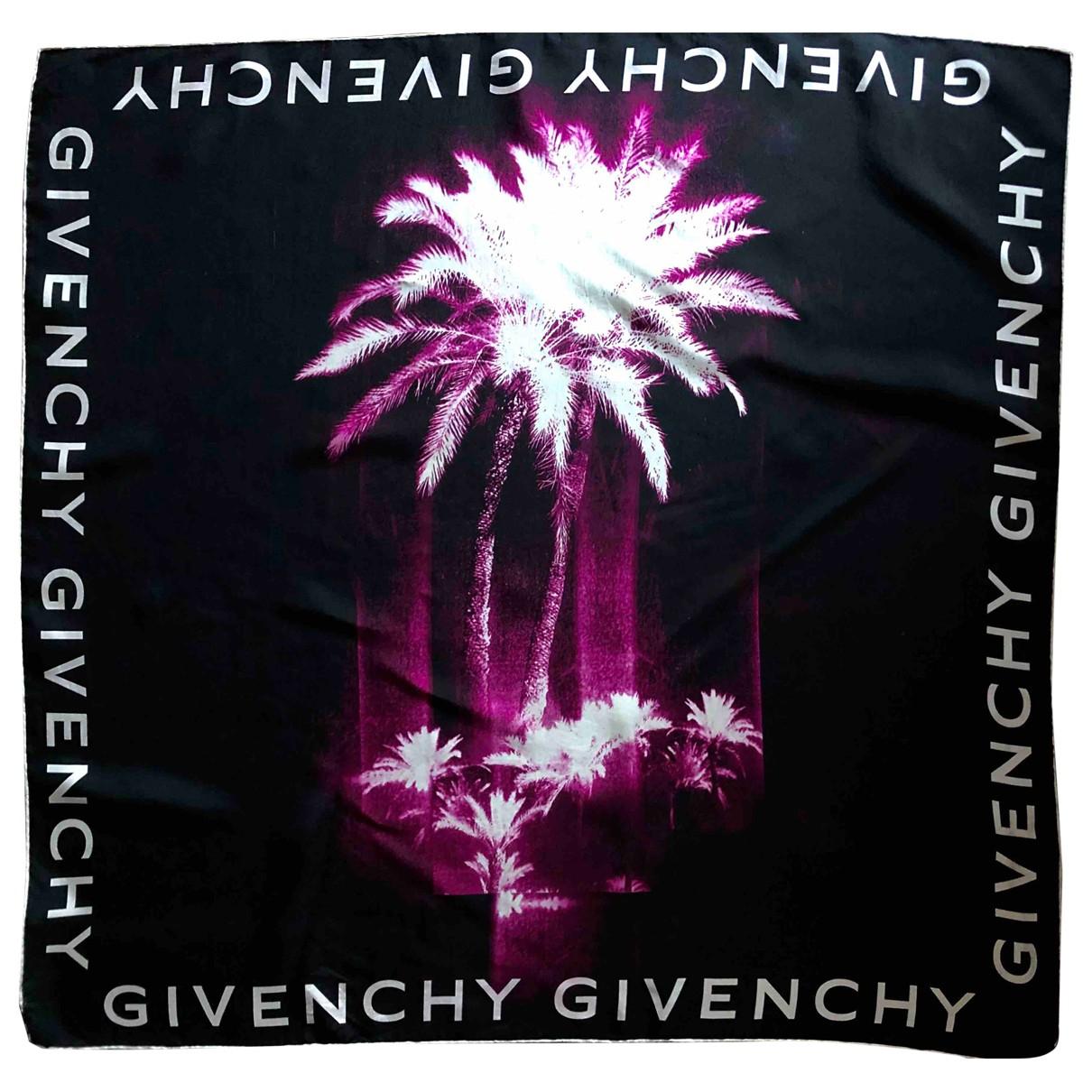 Givenchy \N Schal in  Schwarz Seide