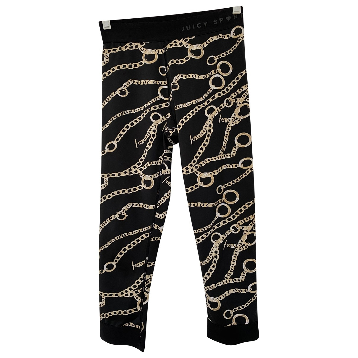 Juicy Couture \N Black Trousers for Women S International