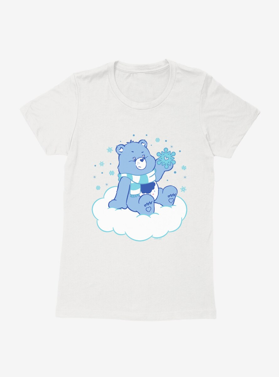 Care Bears Grumpy Bear Snow Womens T-Shirt