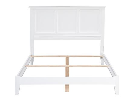 Madison Collection AR8631032 Full Size Traditional Bed with Foundation Support Boards  Non-Toxic Material and Eco-Friendly Solid Hardwood