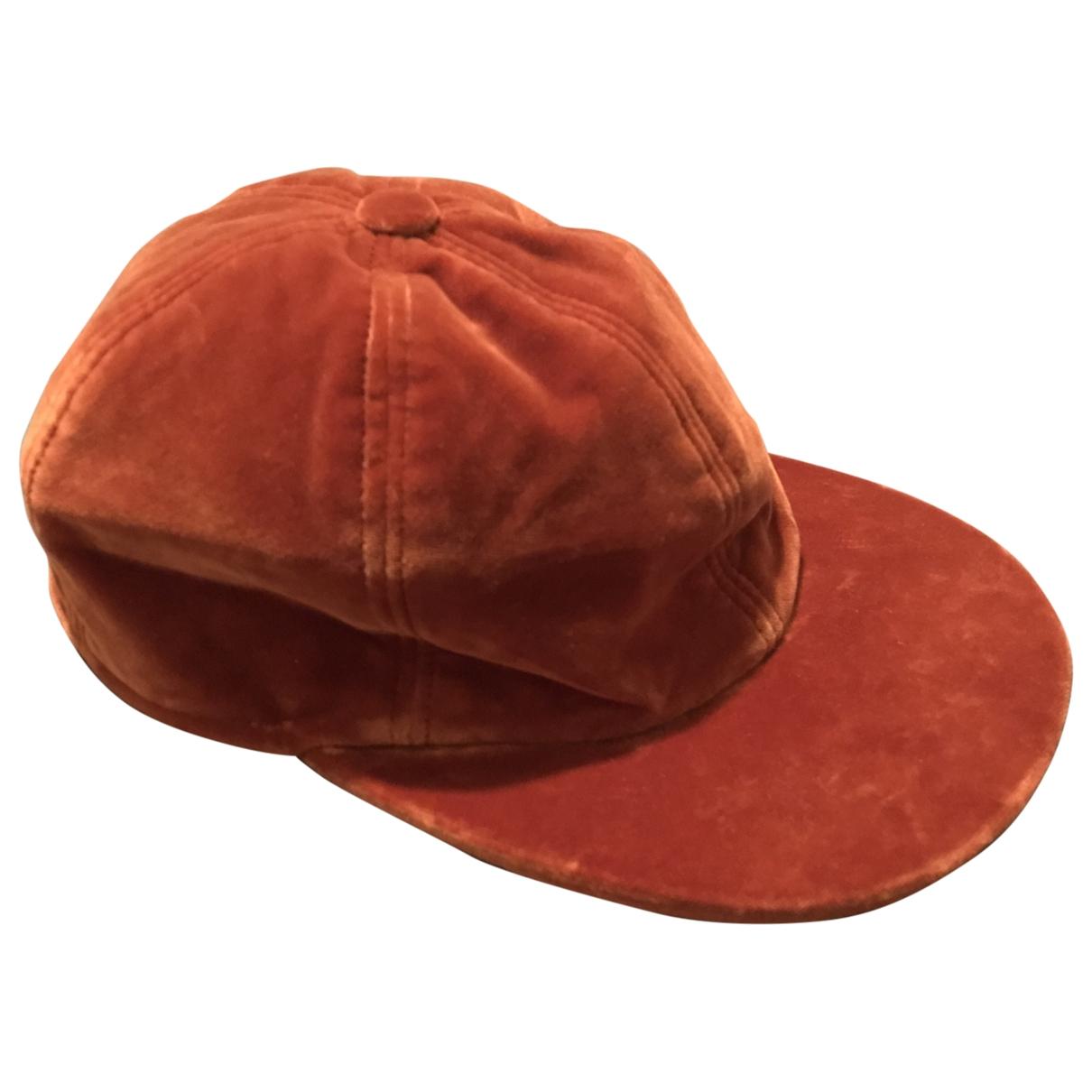 Borsalino - Chapeau & Bonnets   pour homme en coton - orange