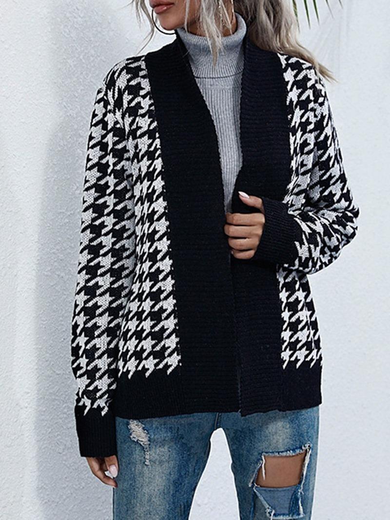 Ericdress Lace-Up Regular Thin Loose Fall Sweater