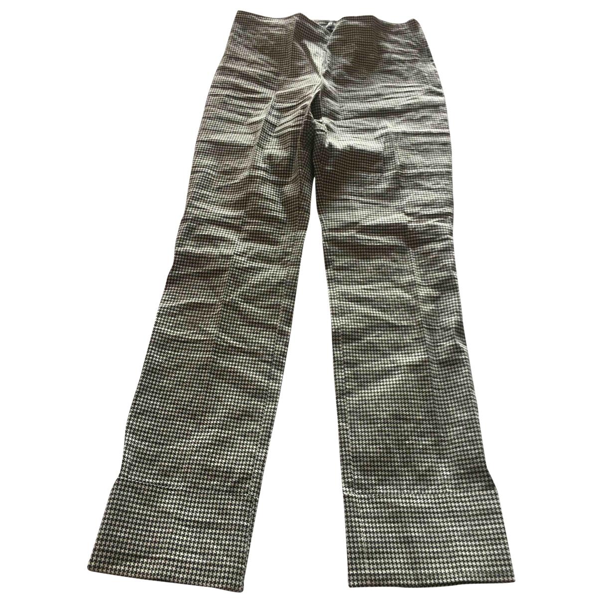 Ter Et Bantine \N Linen Trousers for Women 44 IT