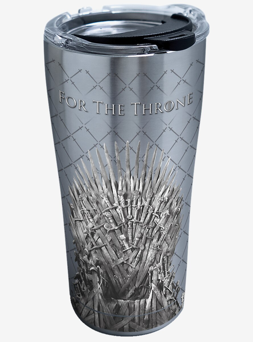 Game Of Thrones For The Throne 20 oz Stainless Steel Tumbler With Lid