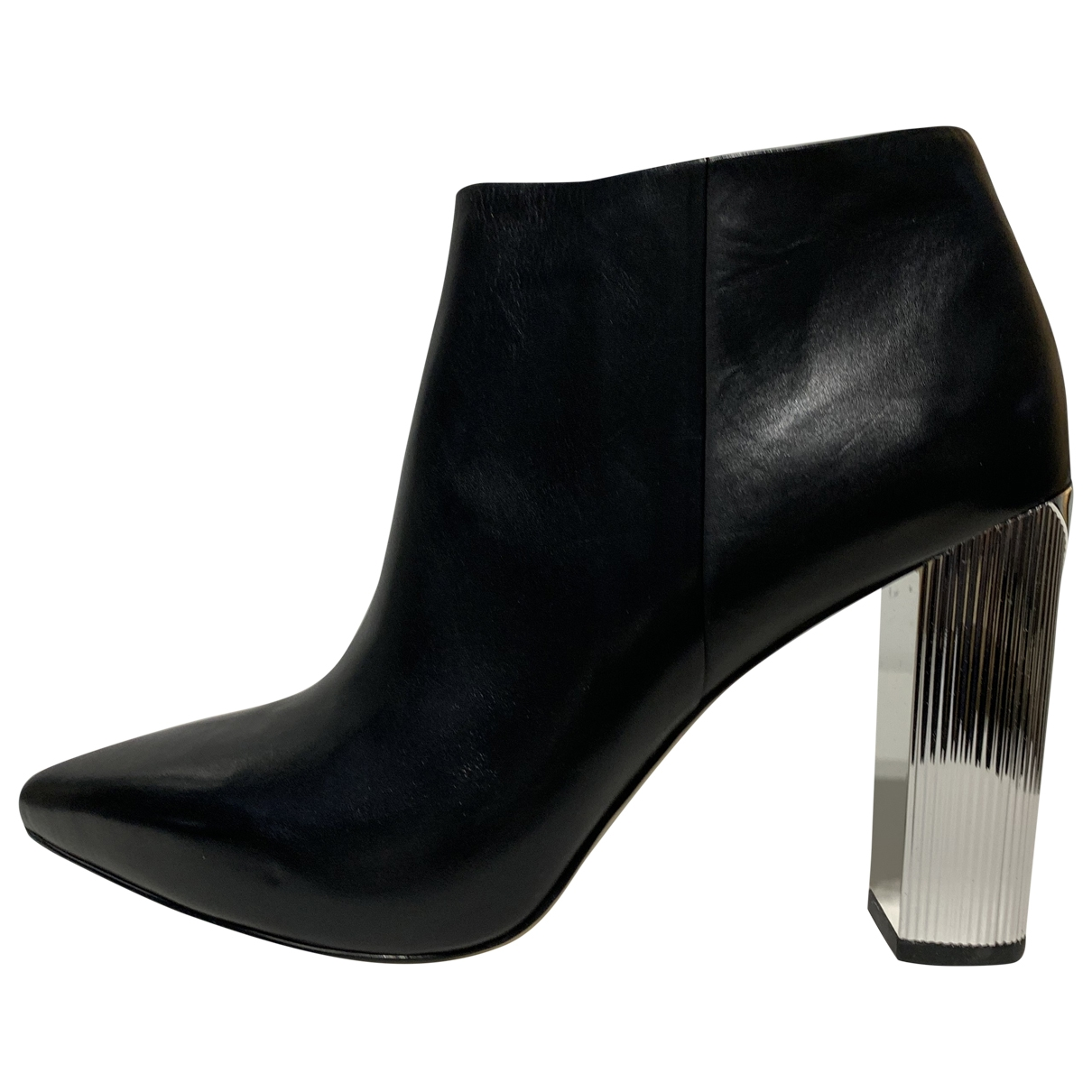 Michael Kors \N Black Leather Ankle boots for Women 9 US