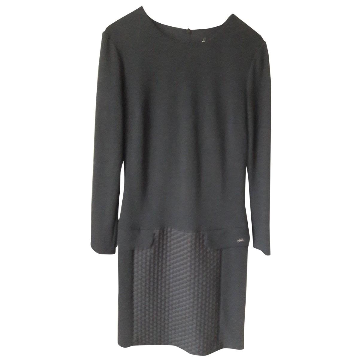 Longchamp \N Kleid in  Schwarz Wolle