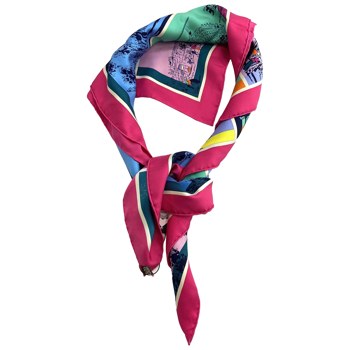 Hermès Carré Géant silk 140 Multicolour Silk scarf for Women \N