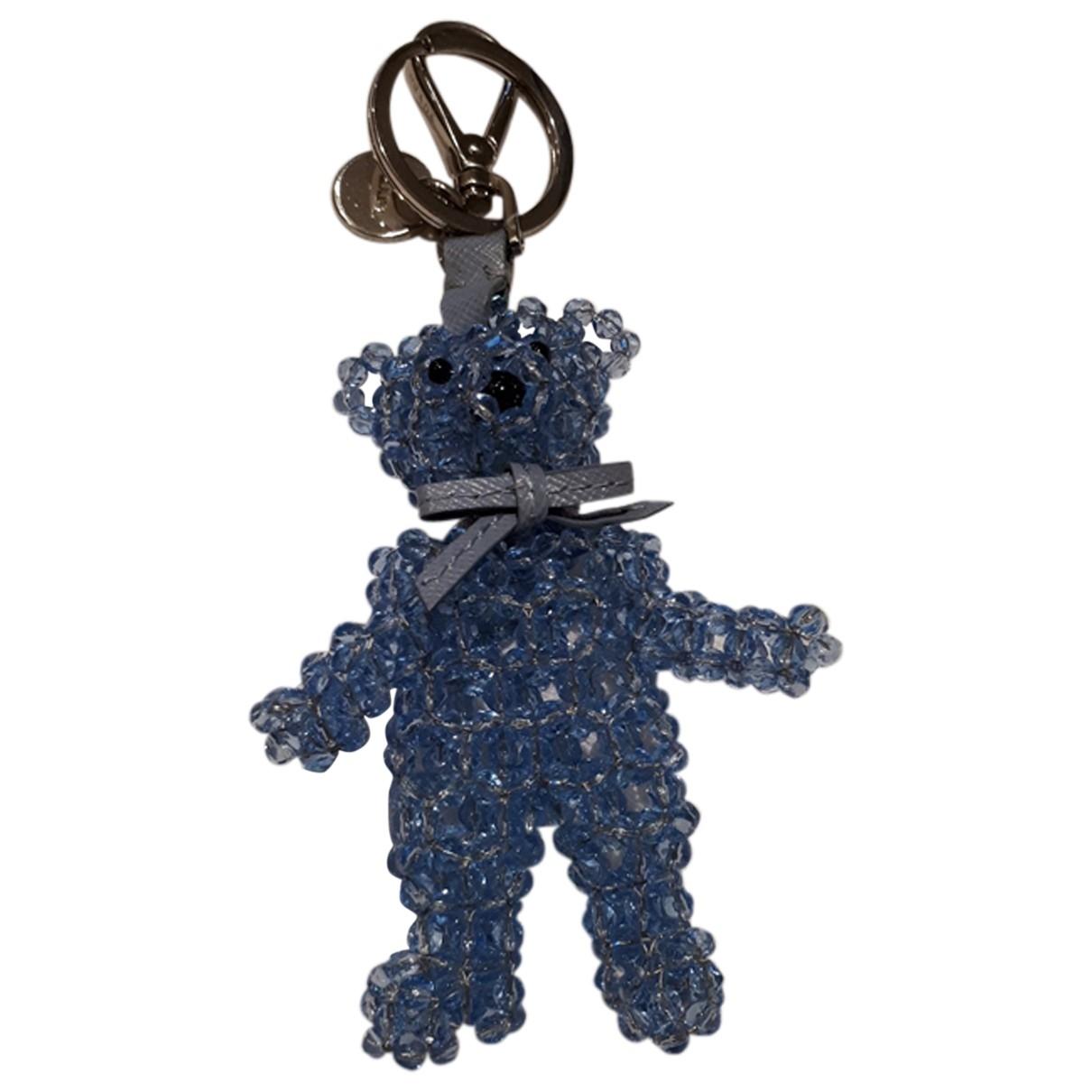 Prada - Bijoux de sac   pour femme en metal - bleu