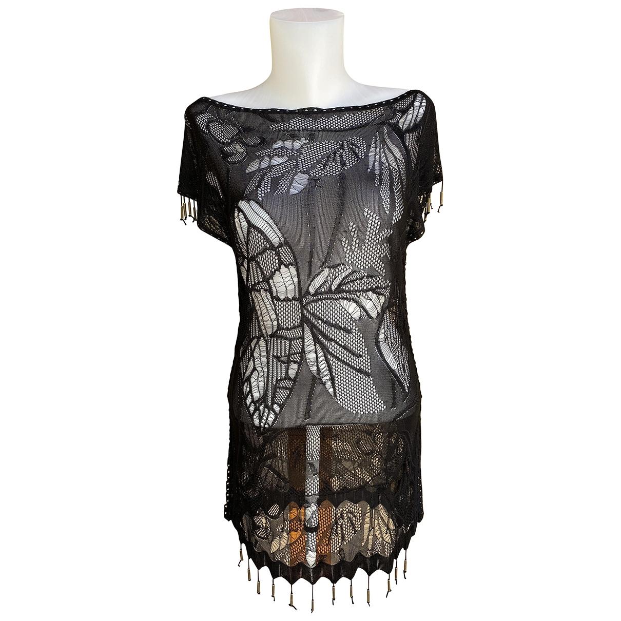 Givenchy \N Top in  Schwarz Viskose