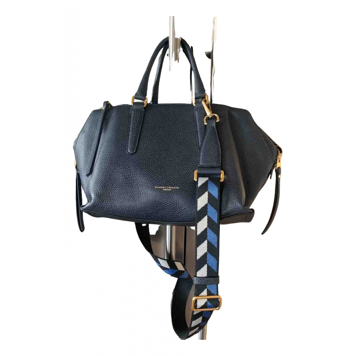 Gianni Chiarini \N Handtasche in  Blau Leder