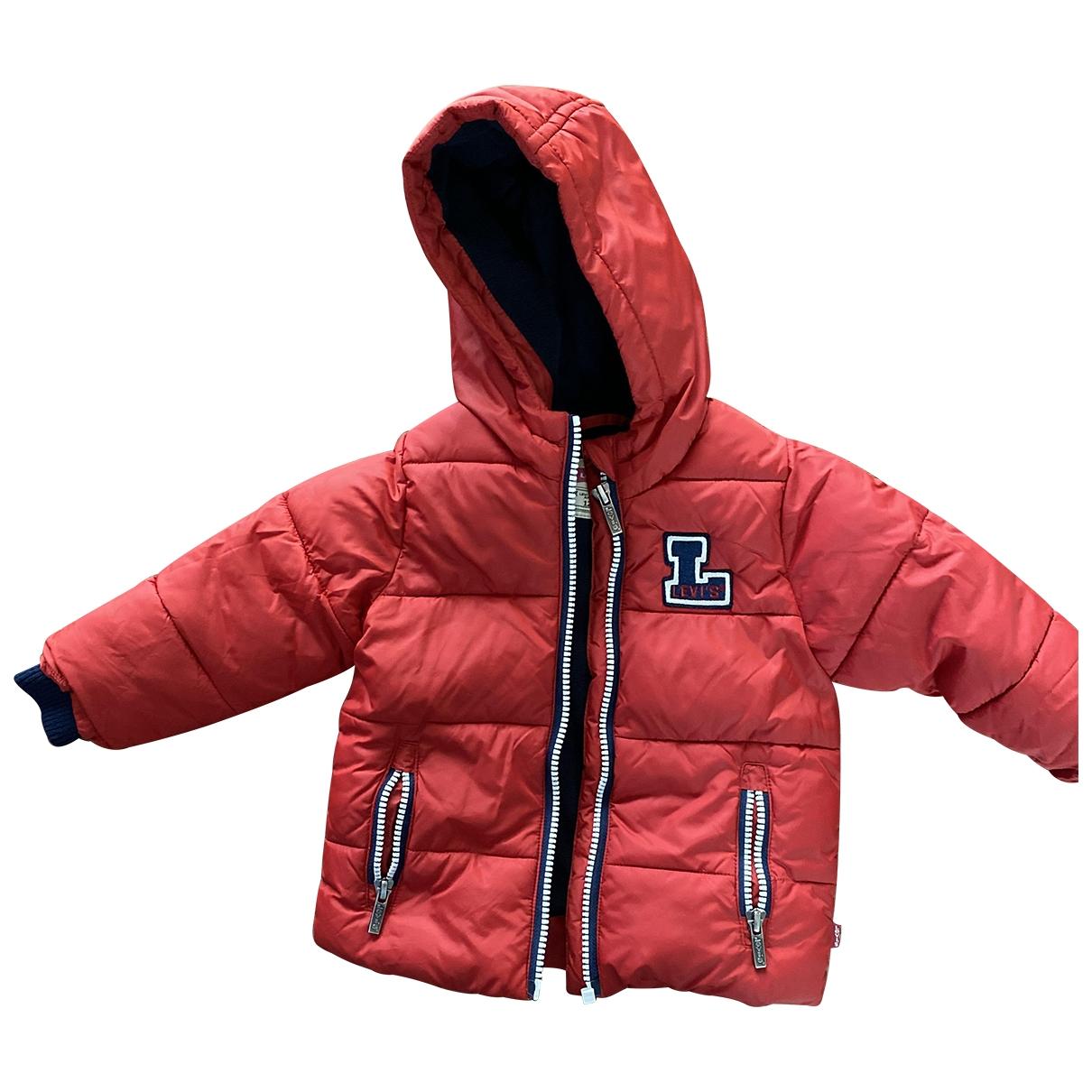 Levis - Blousons.Manteaux   pour enfant - rouge