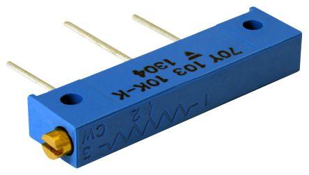 Vishay 20kΩ, Through Hole Trimmer Potentiometer 1W Side Adjust , 70Y