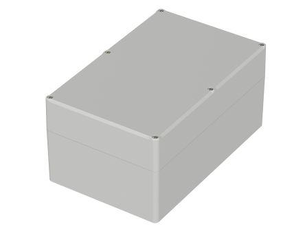 Bopla Euromas II, Light Grey ABS Enclosure, IP65, Flanged, 250 x 160 x 122mm