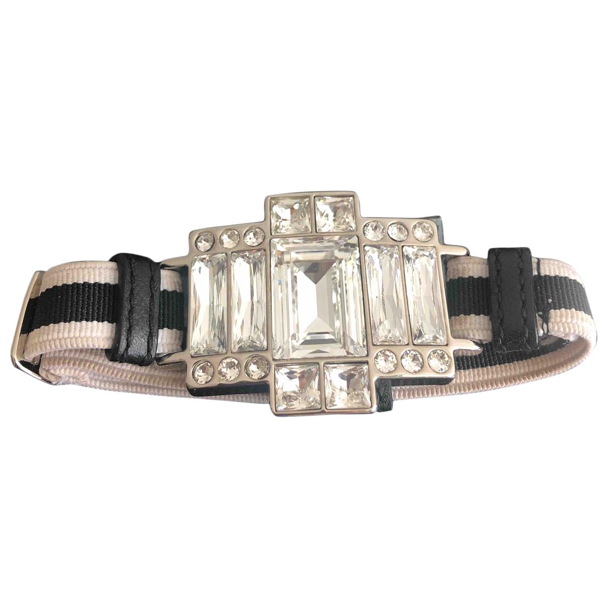Prada - Bracelet   pour femme en verre - noir