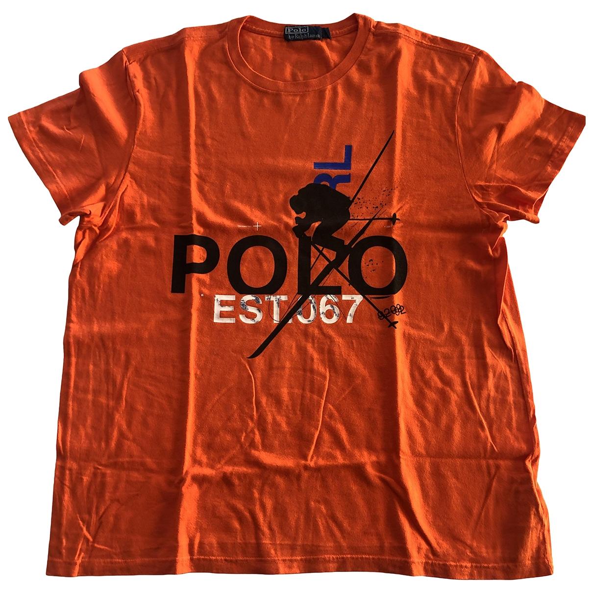 Polo Ralph Lauren \N T-Shirts in  Orange Baumwolle