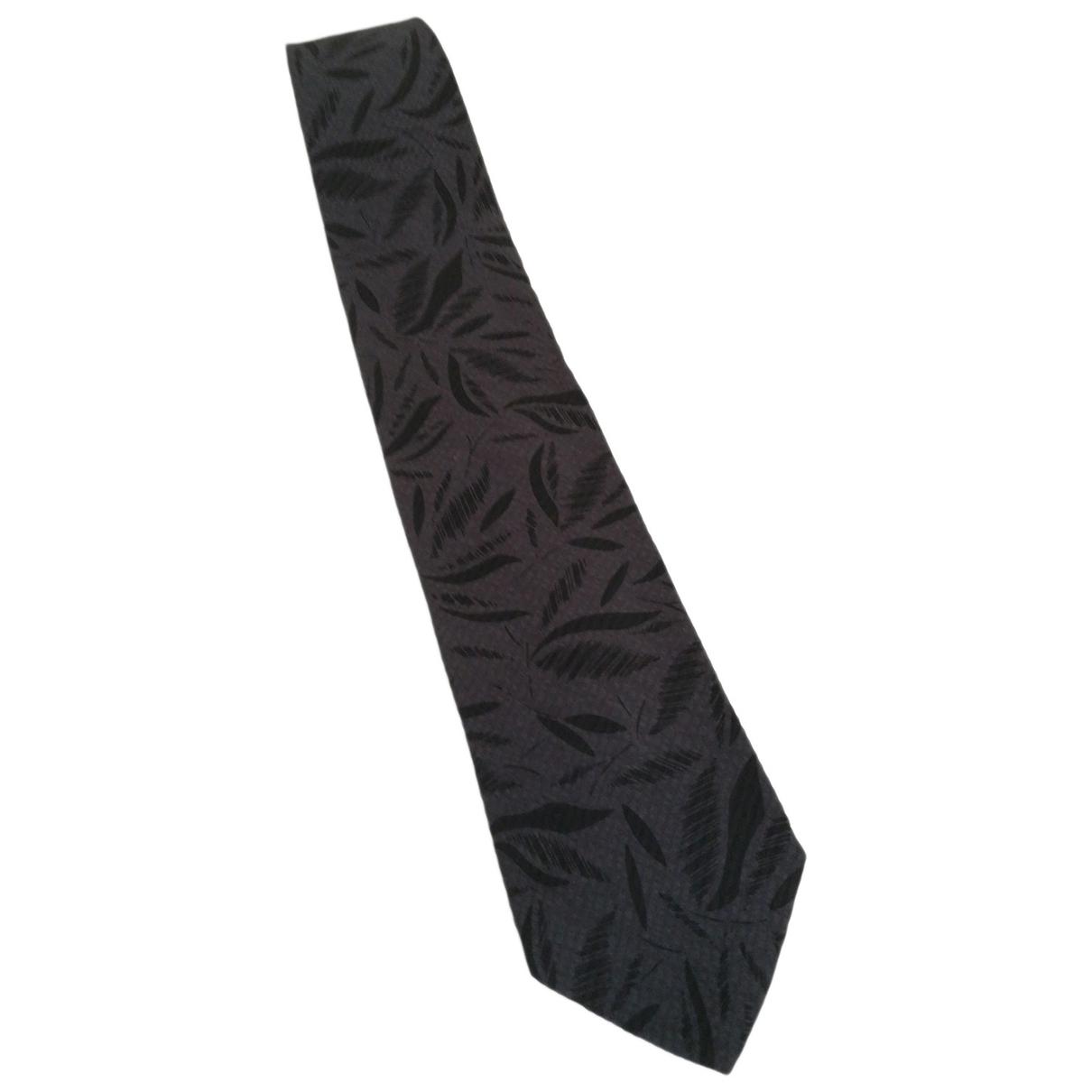 Boss \N Grey Silk Ties for Men \N
