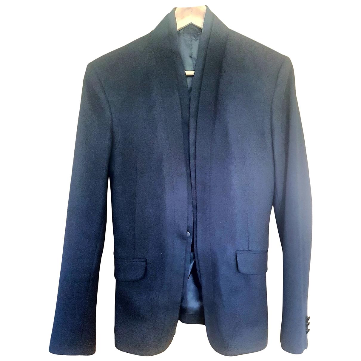 Zara \N Jacke in  Schwarz Baumwolle