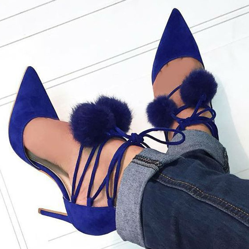 Ericdress Cute Pointed Toe Stiletto Heels