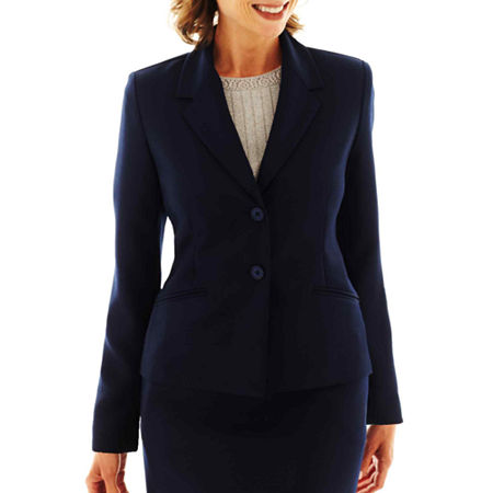 Alfred Dunner Suit Jacket, 16 Petite , Blue