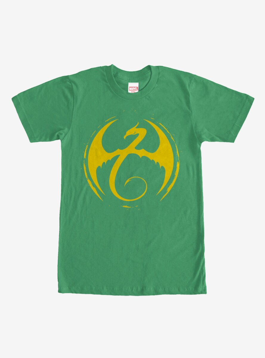 Marvel Iron Fist Dragon Logo T-Shirt