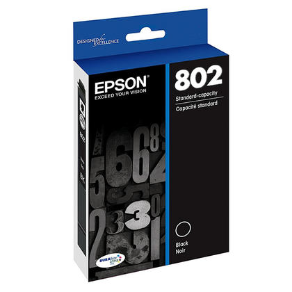 Epson T802 T802120-S cartouche d'encre originale noir