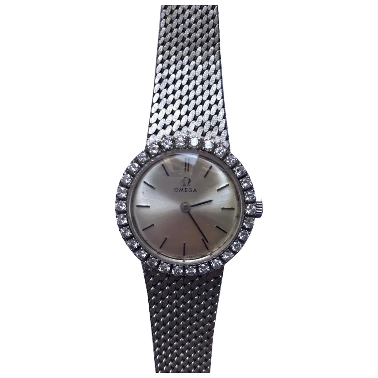 Omega De Ville  Uhr in  Silber Weissgold