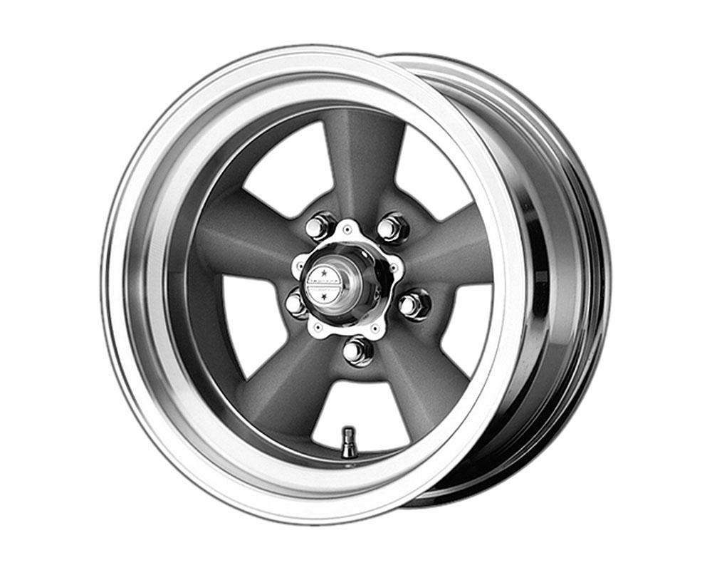 American Racing VN309 TT O Wheel 15x7 5x5x120.65 -6mm Vintage Silver Machined Lip