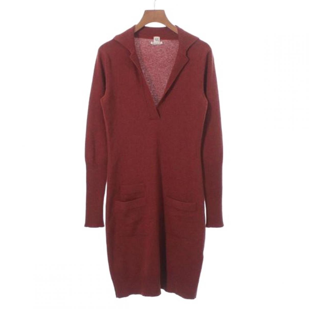 Hermès \N Orange Cashmere dress for Women 36 FR