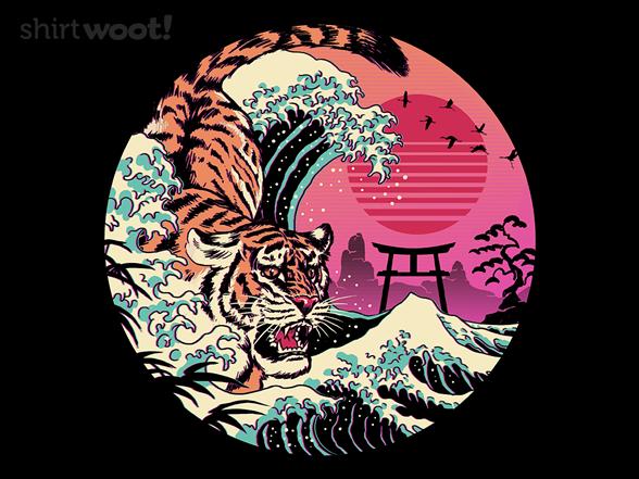 Rad Tiger Wave T Shirt