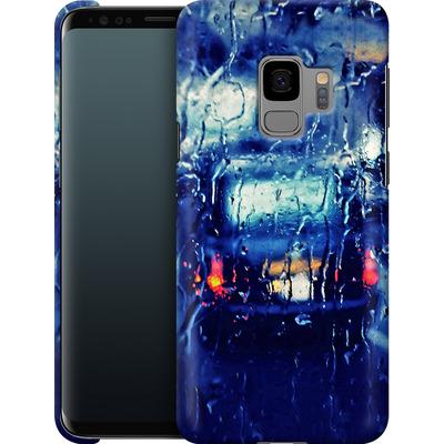 Samsung Galaxy S9 Smartphone Huelle - London Taxi In The Rain von Ronya Galka