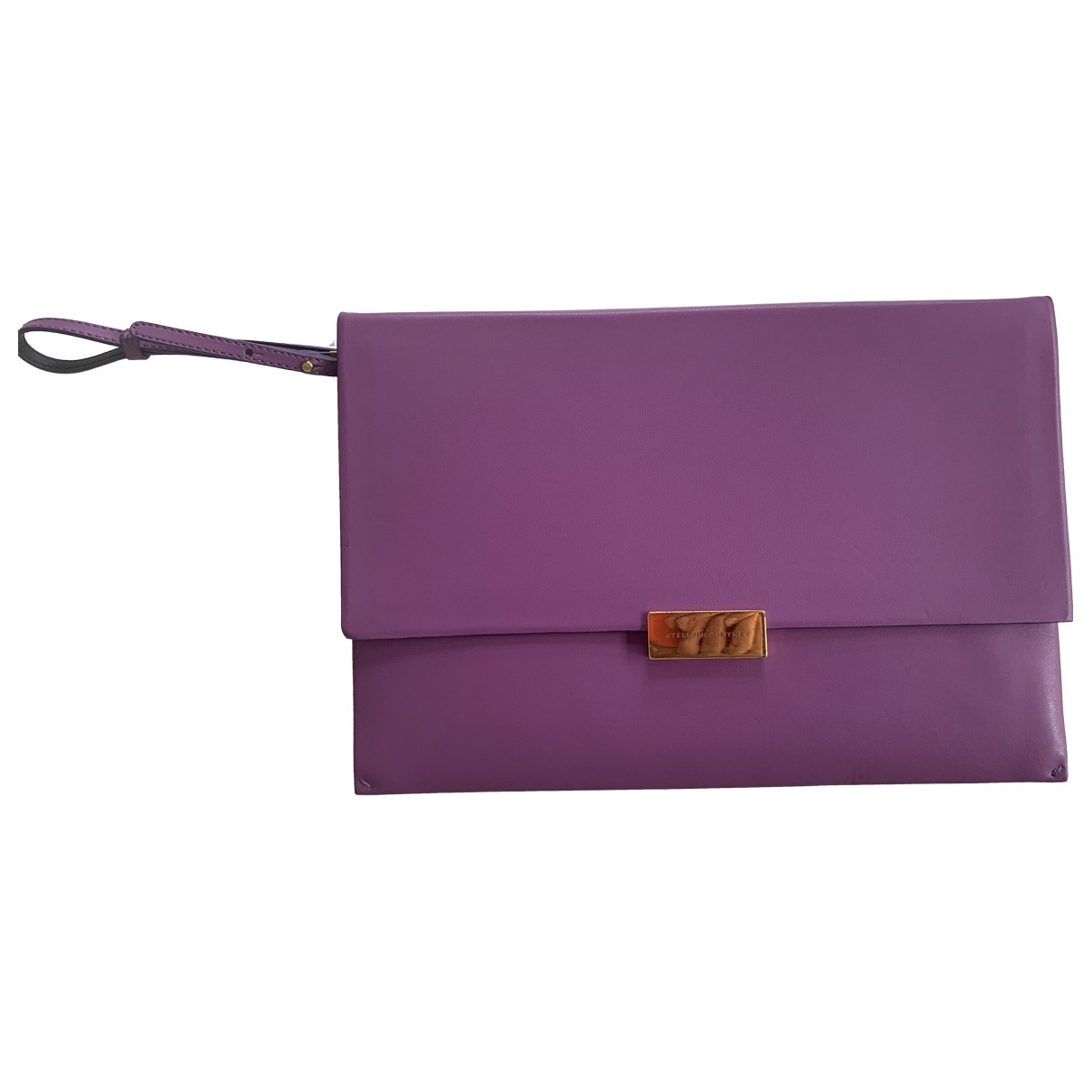 Stella Mccartney \N Purple Cloth Clutch bag for Women \N