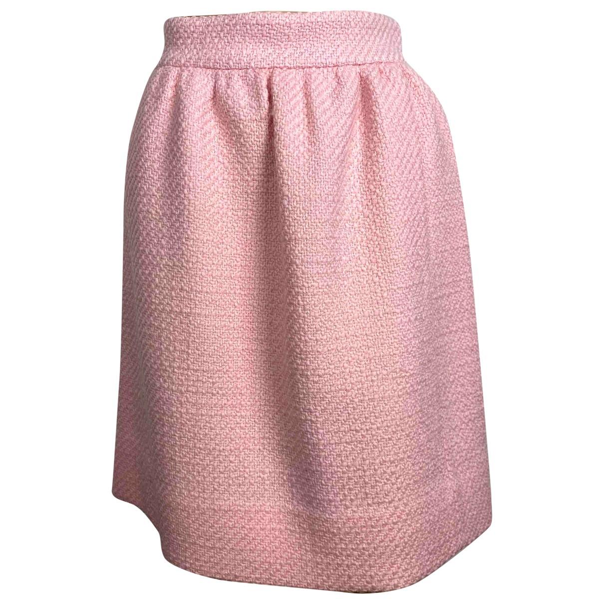 Gucci - Jupe   pour femme en tweed - rose