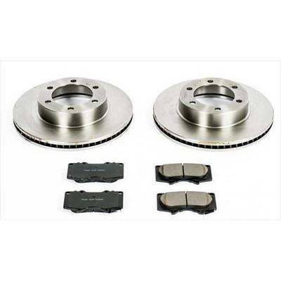 Power Stop 1-Click OE Replacement Front Brake Kits - KOE2324