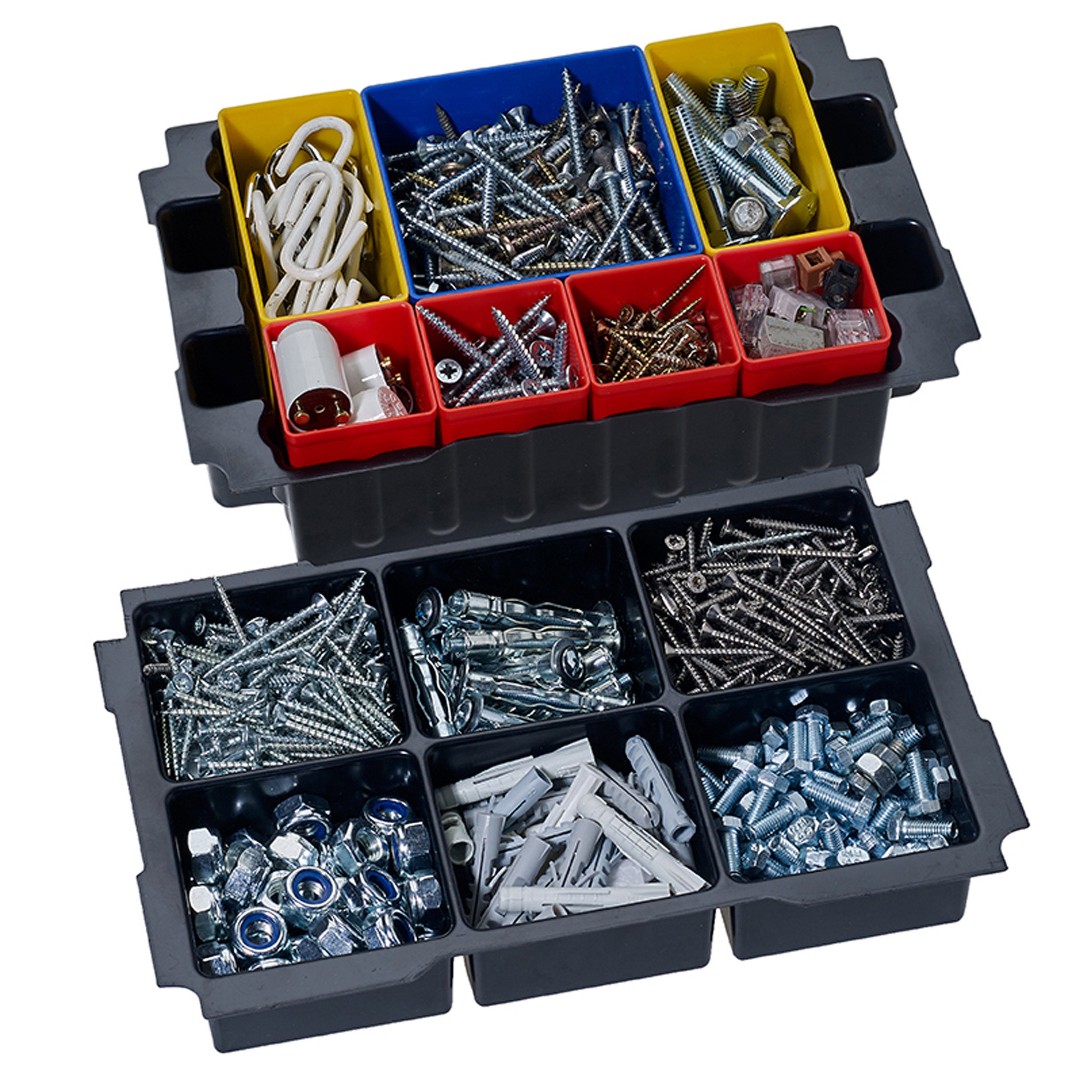 Box Insert Set with 6 divisions for MINI T-LOC III systainers