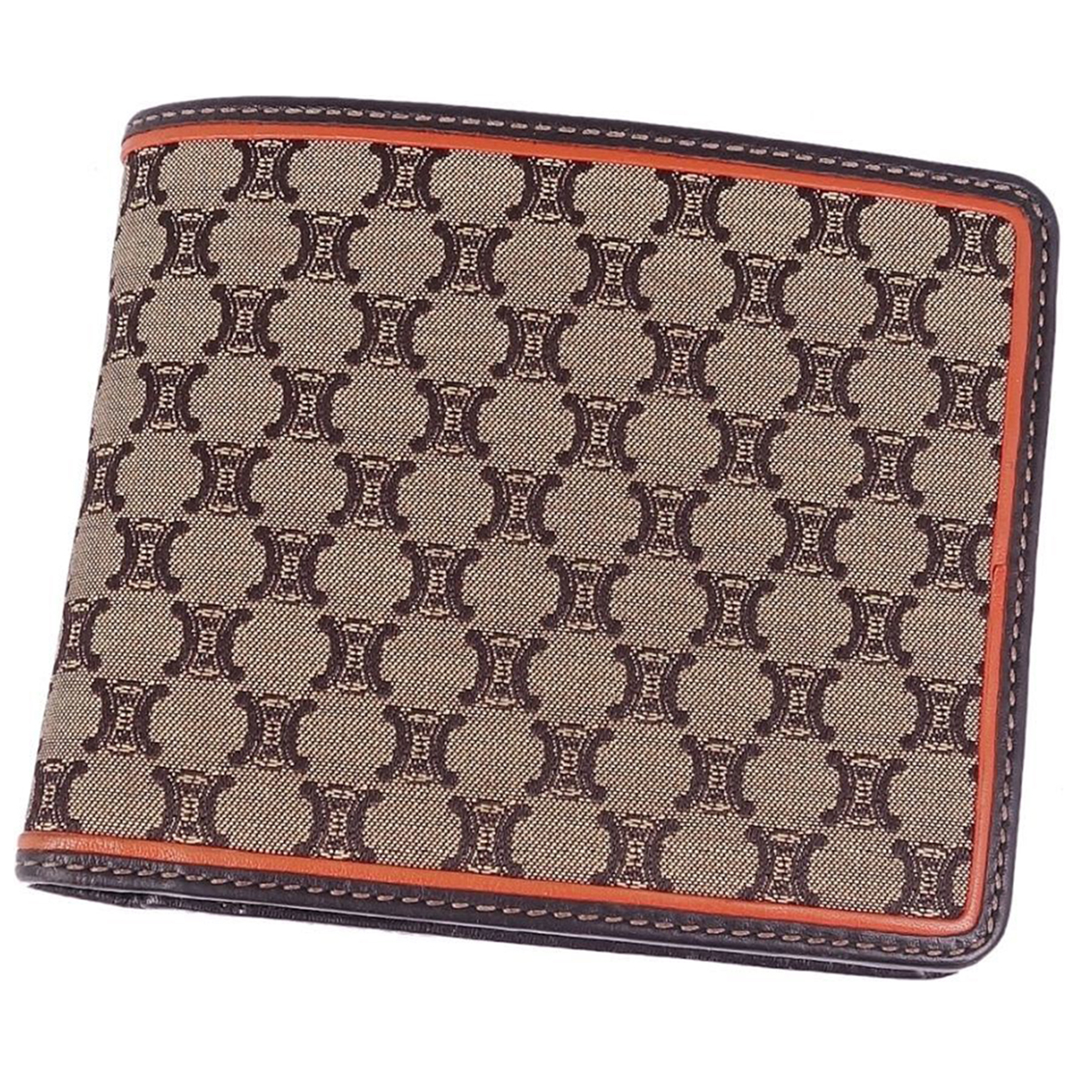 Celine \N Brown Cloth wallet for Women \N