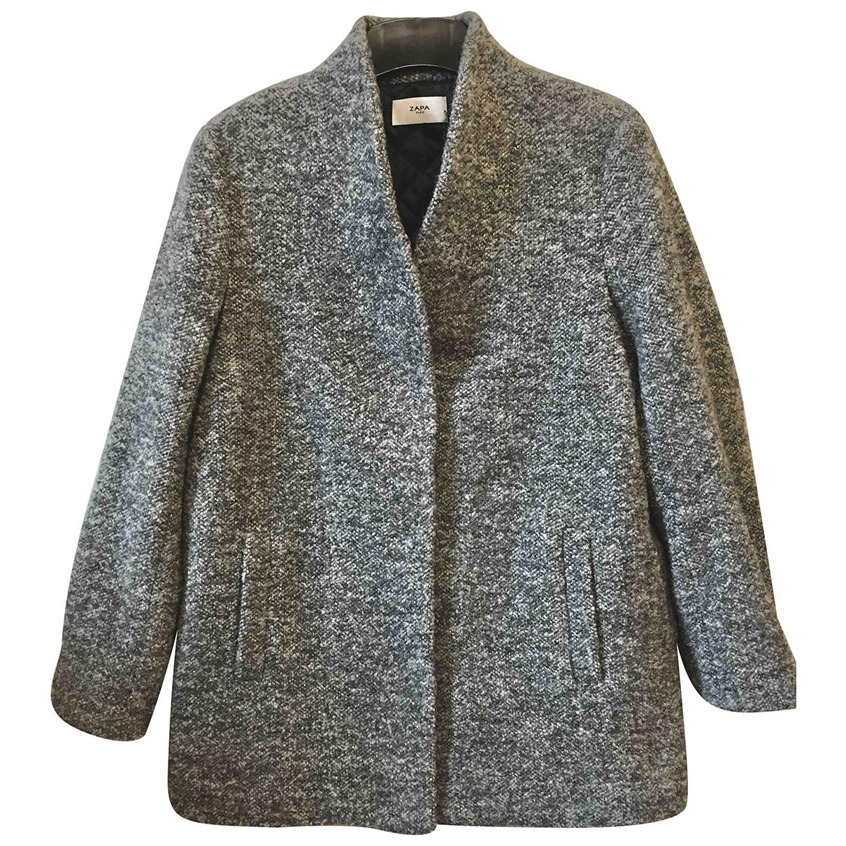 Zapa - Manteau   pour femme en laine
