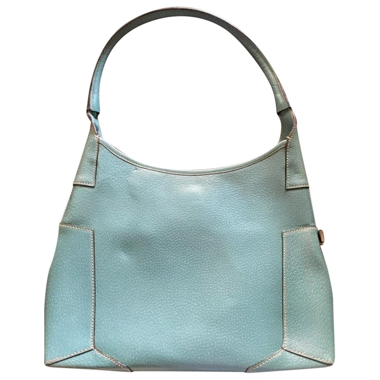 Salvatore Ferragamo \N Turquoise Fur handbag for Women \N