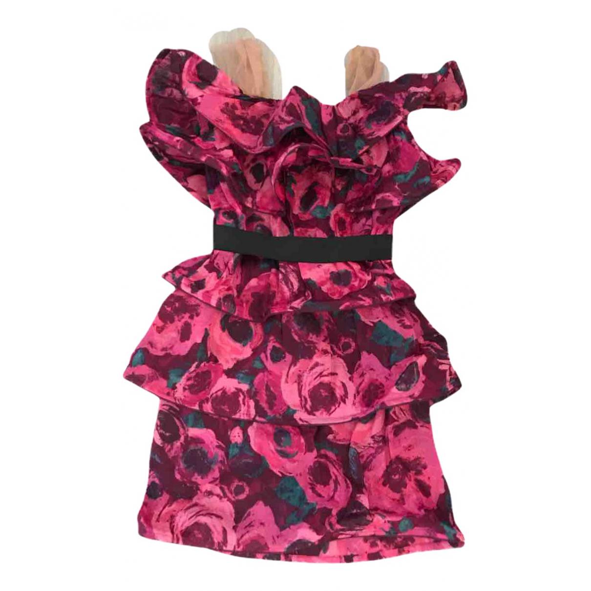 Lanvin For H&m \N Kleid in  Rosa Seide