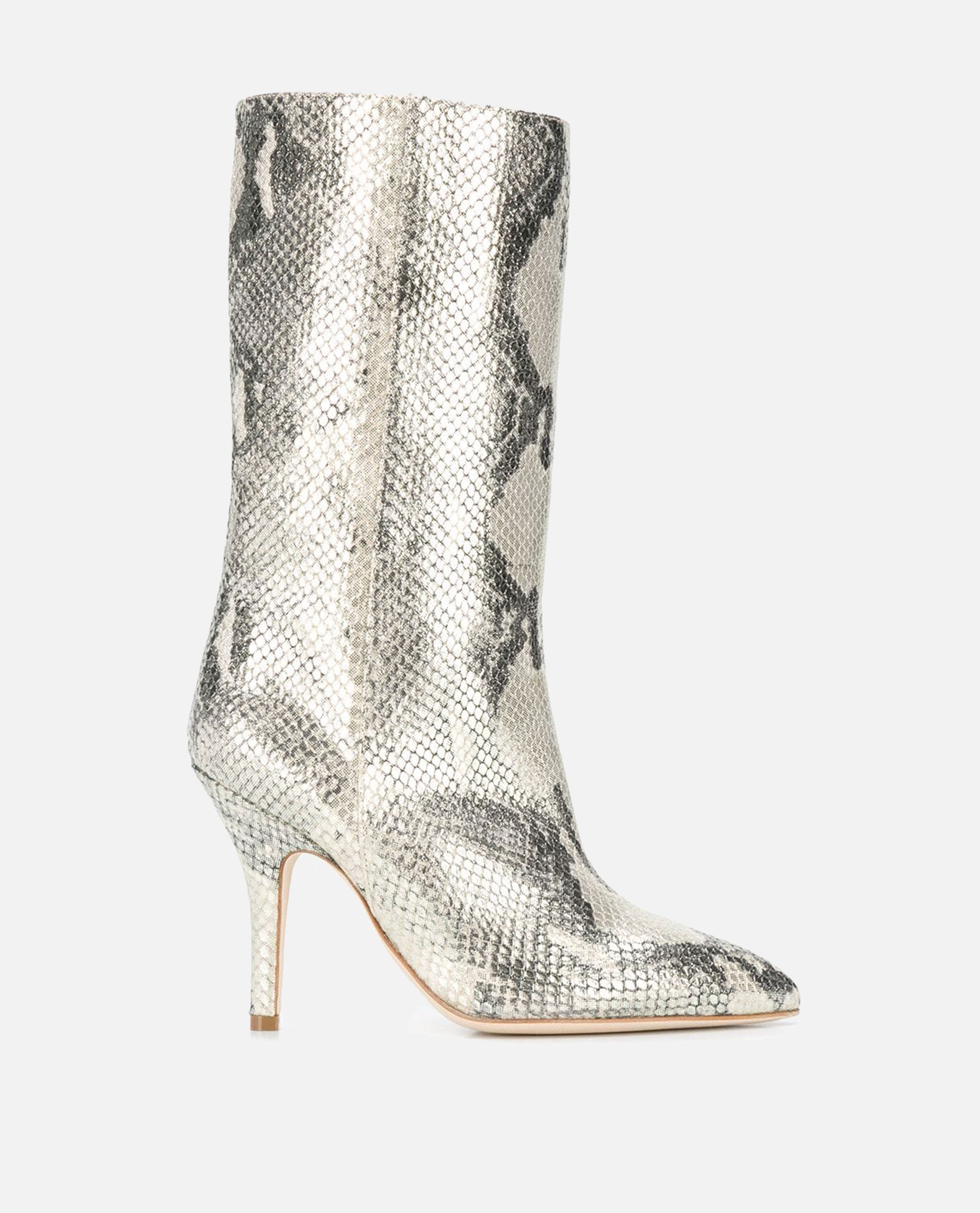 Paris Texas boots in python print