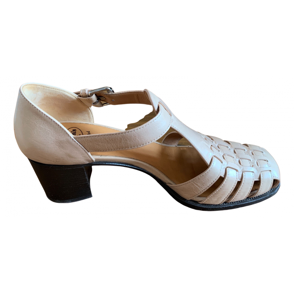 Churchs \N Sandalen in  Beige Leder