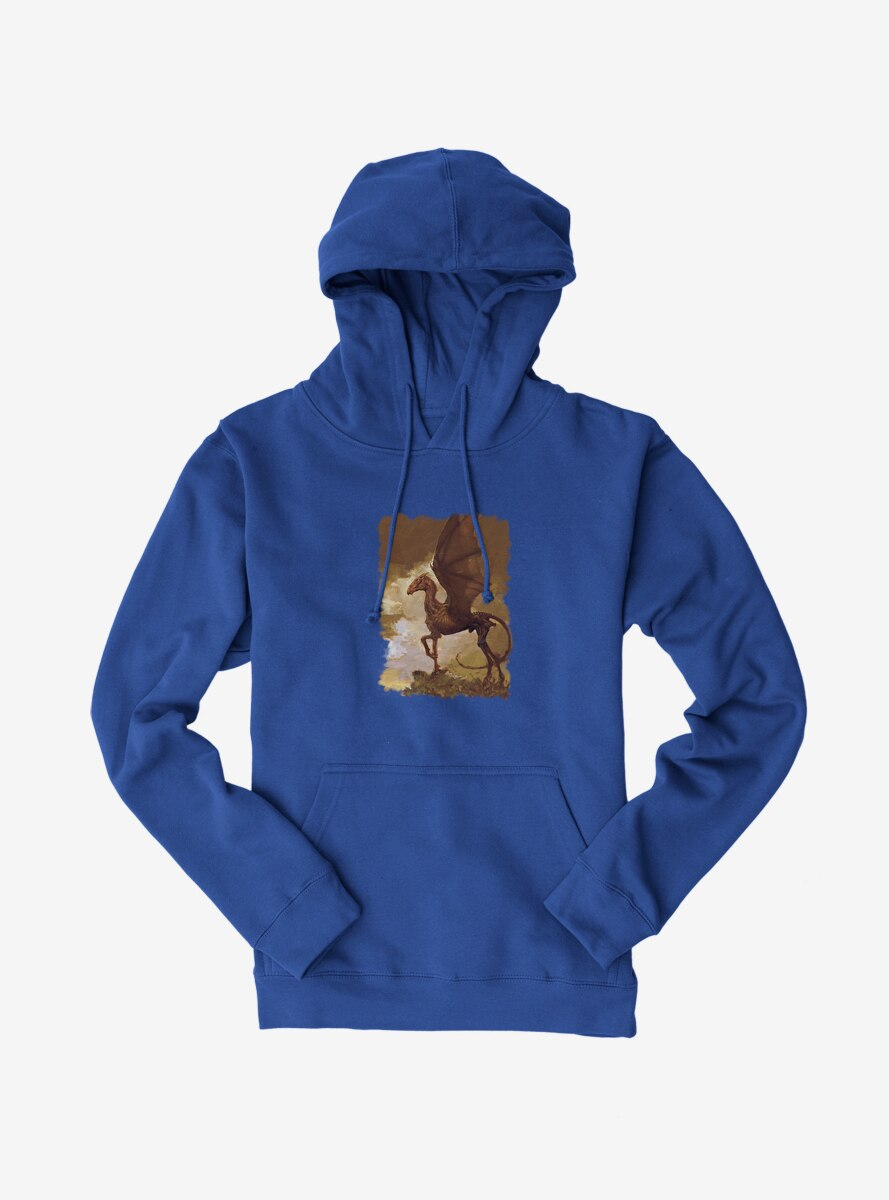 Harry Potter Brown Thestral Painting Hoodie