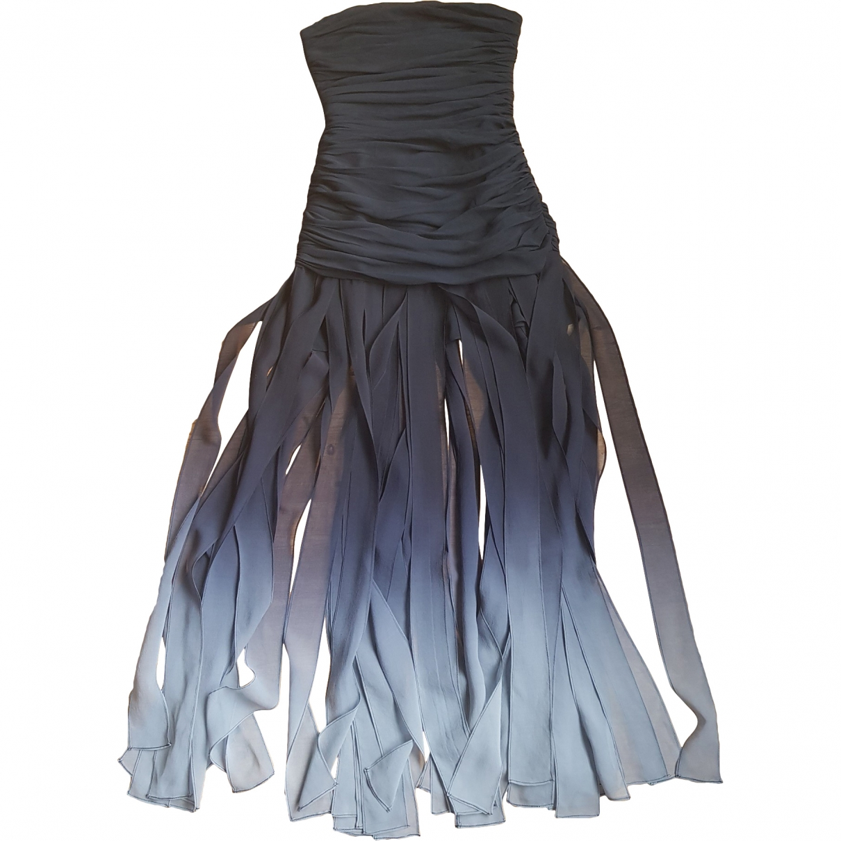 Bcbg Max Azria \N Black Silk dress for Women 4 US