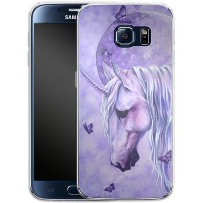 Samsung Galaxy S6 Silikon Handyhuelle - Moonlit Magic von Selina Fenech
