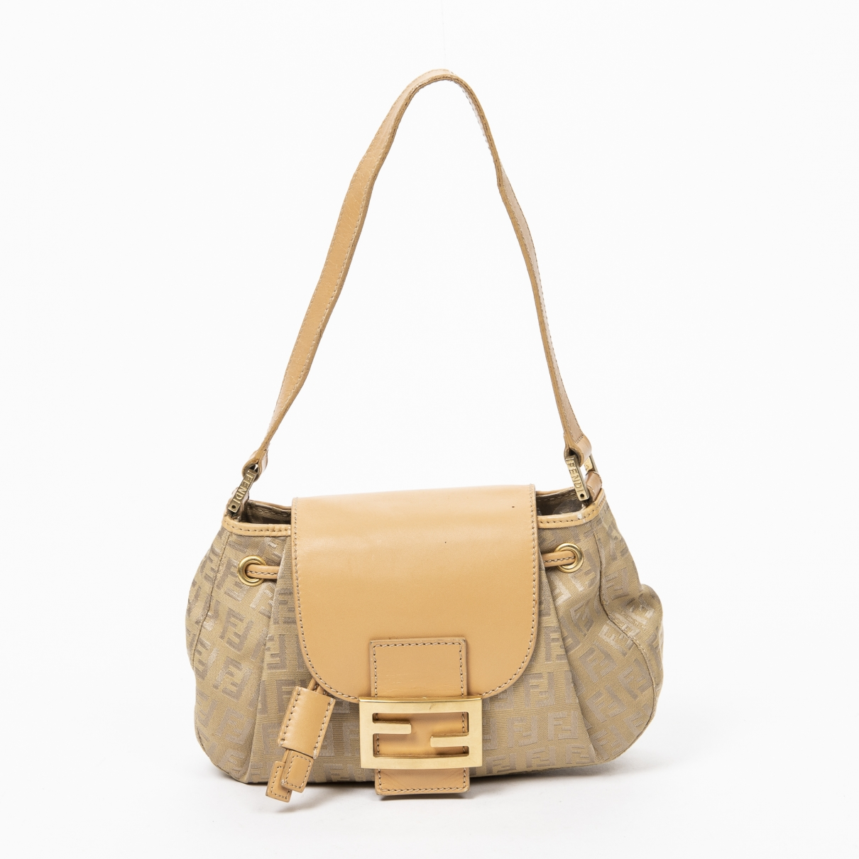 Fendi \N Handtasche in  Beige Leder