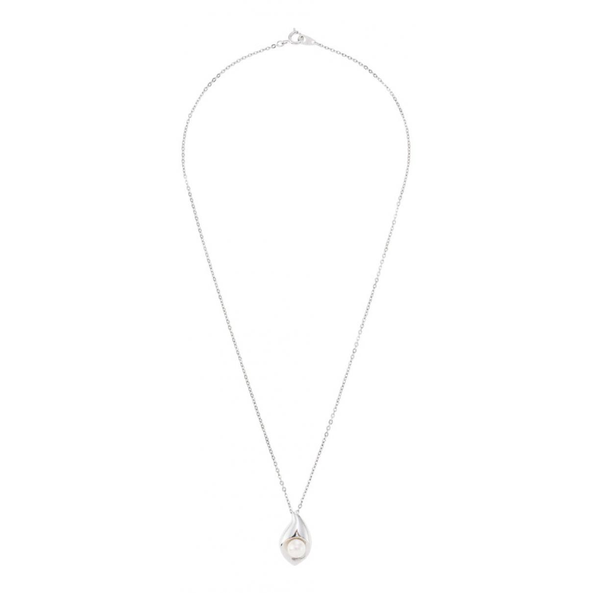 Tasaki \N Kette in  Silber Perlen