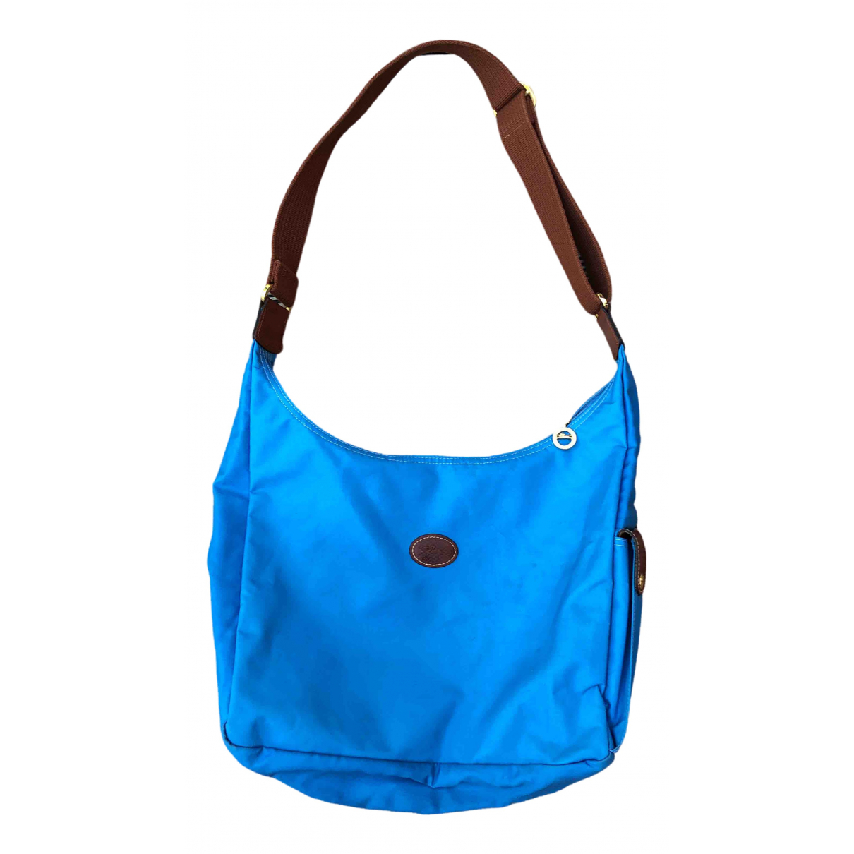 Longchamp \N Blue Leather handbag for Women \N